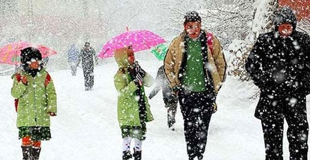 Meteoroloji'den 6 bölge için kar yağışı uyarısı